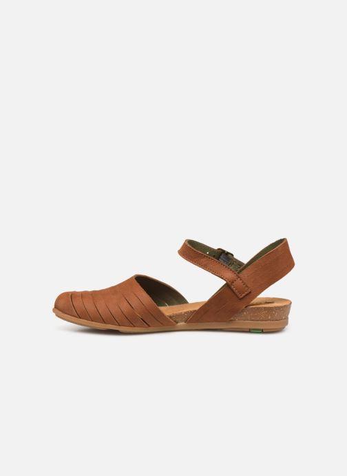 Sandales et nu-pieds El Naturalista Stella N5201 C Marron vue face
