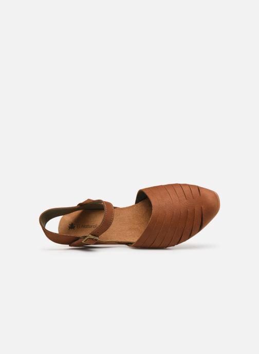 Sandales et nu-pieds El Naturalista Stella N5201 C Marron vue gauche