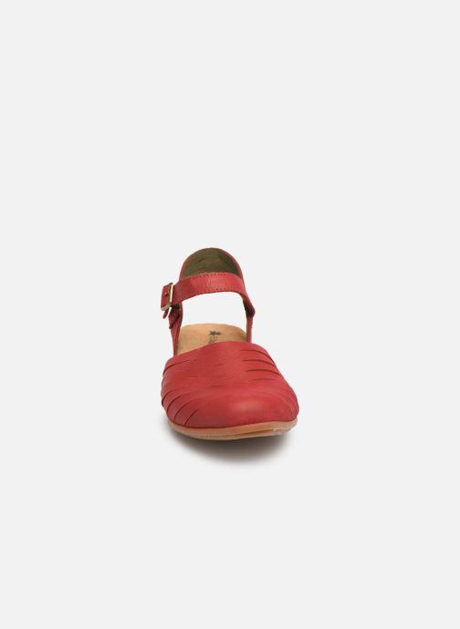 Sandales et nu-pieds El Naturalista Stella N5201 C Rouge vue portées chaussures