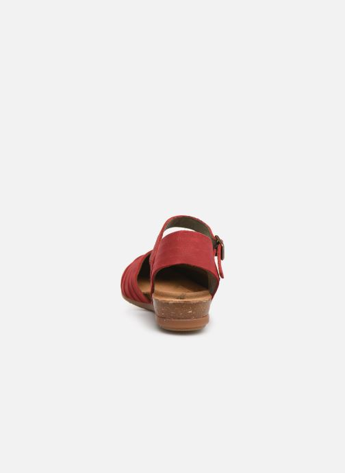 Sandals El Naturalista Stella N5201 C Red view from the right