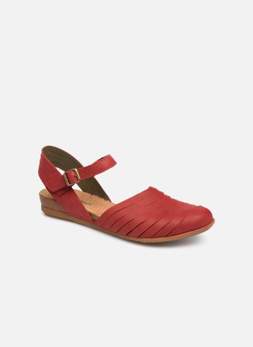 Sandales et nu-pieds El Naturalista Stella N5201 C Rouge vue détail/paire