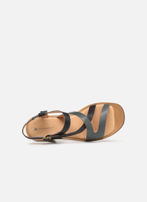 Sandales et nu-pieds El Naturalista Trivia N5157 Noir vue gauche