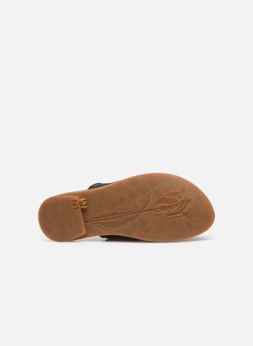 Mules & clogs El Naturalista Tulip N5183 Black view from above
