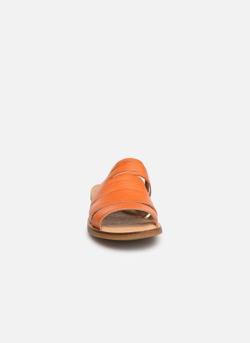 Mules et sabots El Naturalista Tulip N5183 Orange vue portées chaussures