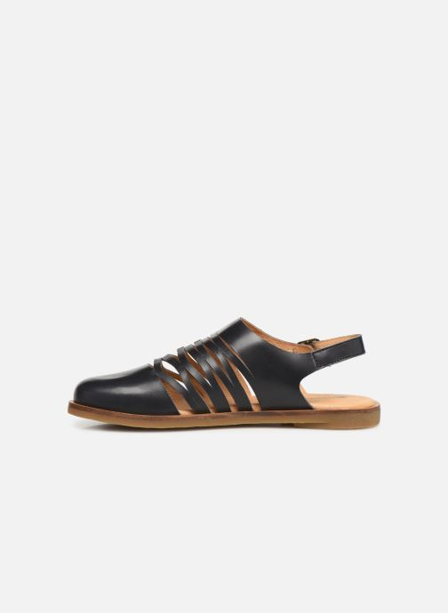 pieds Tulip N5184 Chez Nu Naturalista El noir Sandales Et 0qpOE5Ex