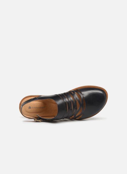 Sandales et nu-pieds El Naturalista Tulip N5184 Noir vue gauche