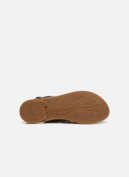 Sandales et nu-pieds El Naturalista Tulip N5184 Noir vue haut