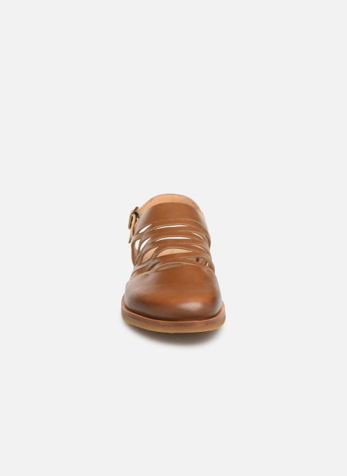 Sandales et nu-pieds El Naturalista Tulip N5184 Marron vue portées chaussures