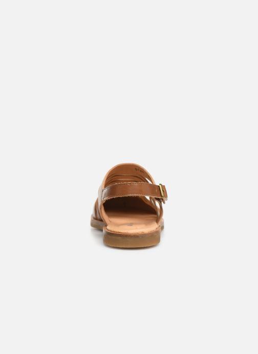 Sandales et nu-pieds El Naturalista Tulip N5184 Marron vue droite