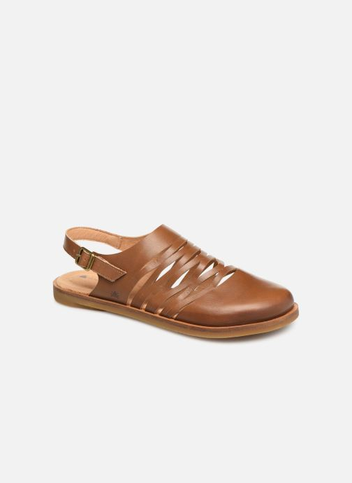 Sandales et nu-pieds El Naturalista Tulip N5184 Marron vue détail/paire