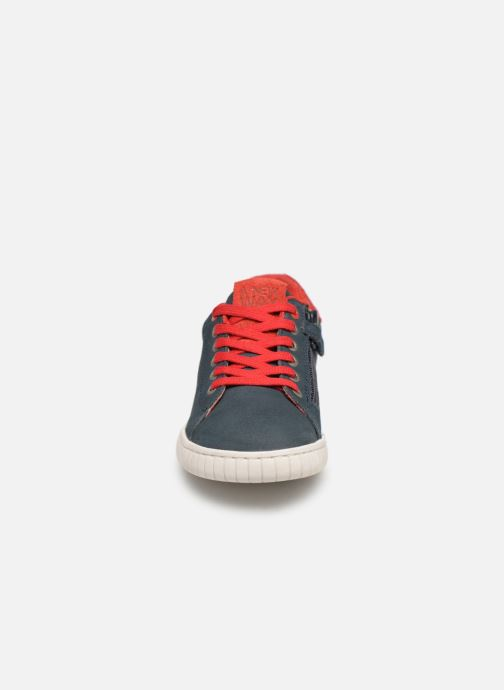 Baskets Kickers Winder Bleu vue portées chaussures