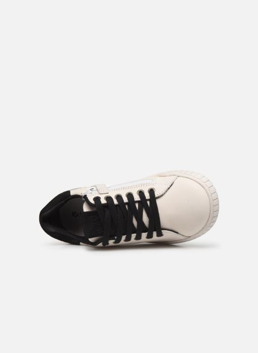 Sneakers Kickers Winder Wit links