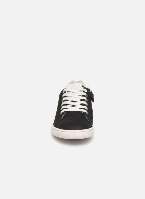Baskets Kickers Winder Noir vue portées chaussures