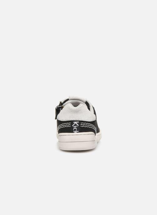 Sneaker Kickers Winder schwarz ansicht von rechts