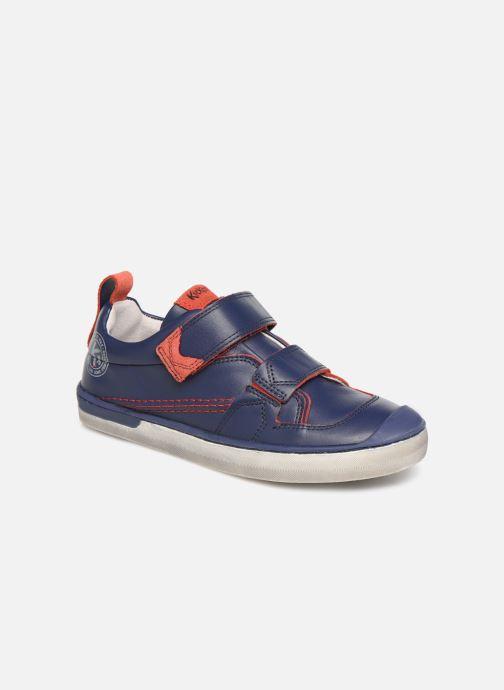 Baskets Kickers Iroad Bleu vue détail/paire
