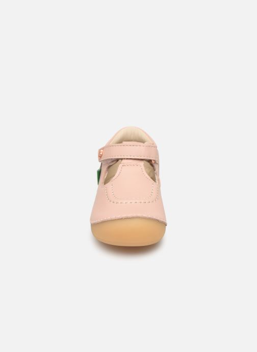 Ballerines Kickers Salome Rose vue portées chaussures