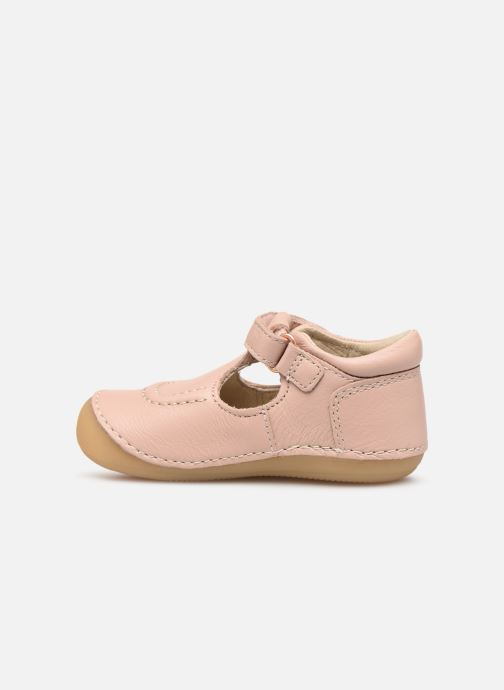 Ballerines Kickers Salome Rose vue face