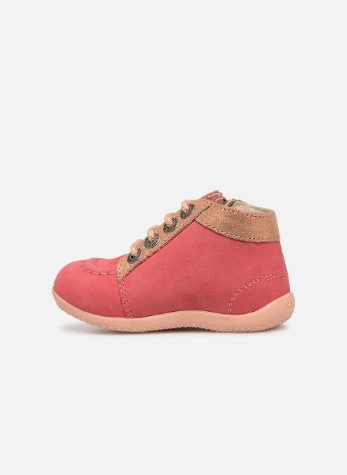 Boots en enkellaarsjes Kickers Bahalor Roze voorkant