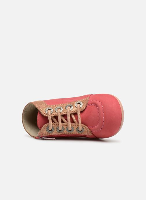 Boots en enkellaarsjes Kickers Bahalor Roze links