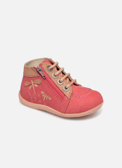 Kickers Sarenza rose 361035 Chez Et Boots Bottines Bahalor SqSnf7TZ