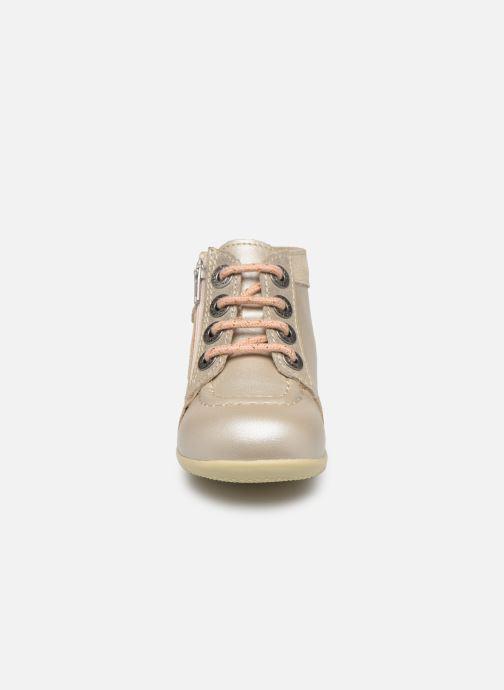 Bottines et boots Kickers Bahalor Argent vue portées chaussures