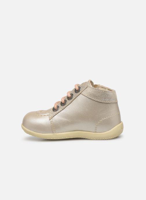Boots en enkellaarsjes Kickers Bahalor Zilver voorkant