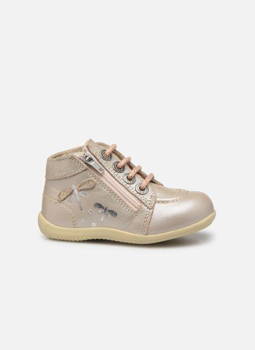 Boots en enkellaarsjes Kickers Bahalor Zilver achterkant