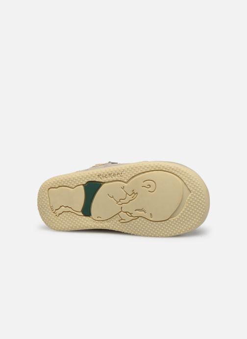 Boots en enkellaarsjes Kickers Bahalor Zilver boven