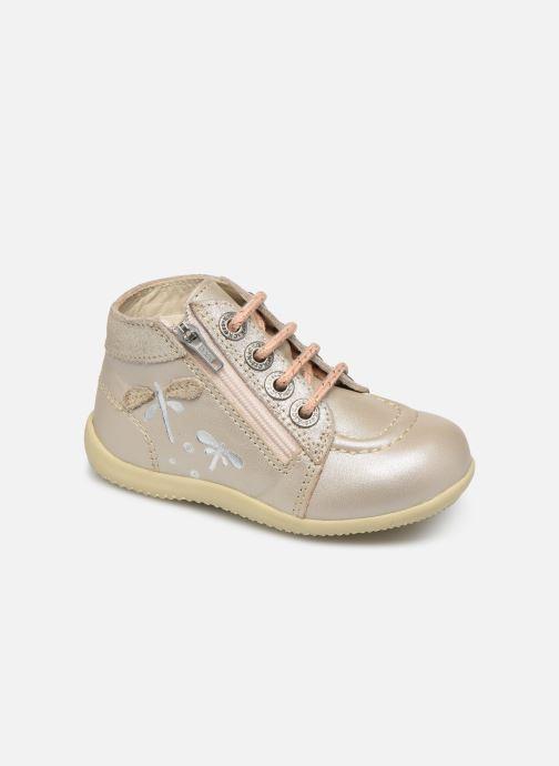 Boots en enkellaarsjes Kickers Bahalor Zilver detail