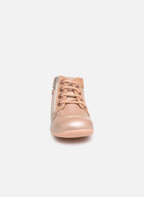 Ankelstøvler Kickers Bahalor Pink se skoene på