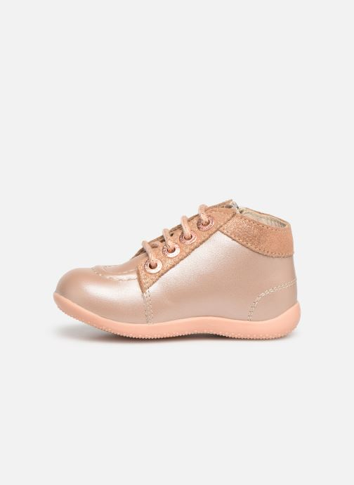 Ankelstøvler Kickers Bahalor Pink se forfra