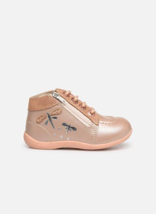 Boots en enkellaarsjes Kickers Bahalor Roze achterkant