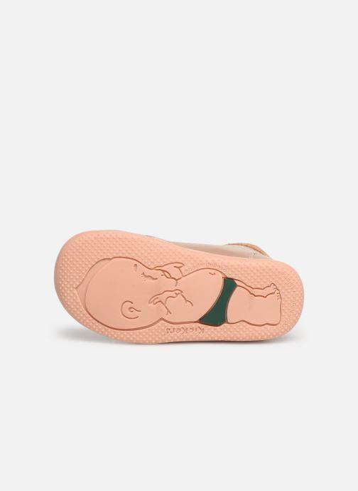 Boots en enkellaarsjes Kickers Bahalor Roze boven