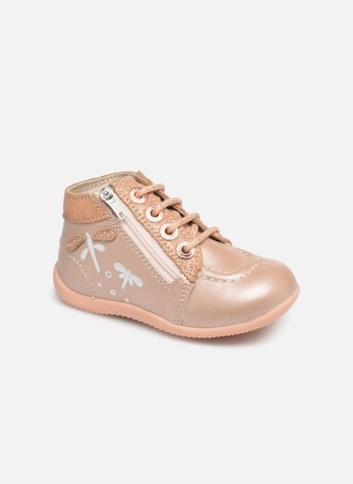 Stiefeletten & Boots Kickers Bahalor rosa detaillierte ansicht/modell
