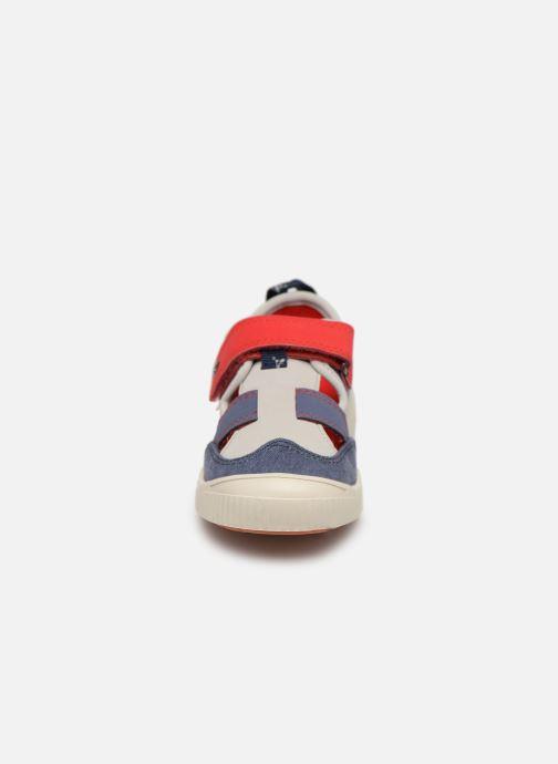 Ballerines Kickers Zut Bleu vue portées chaussures