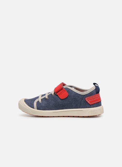 Sneakers Kickers Zhou Blauw voorkant
