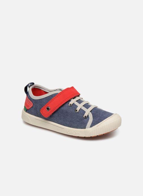 Sneakers Kickers Zhou Blauw detail