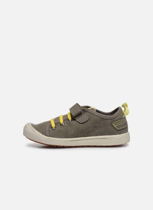 Sneakers Kickers Zhou Verde immagine frontale