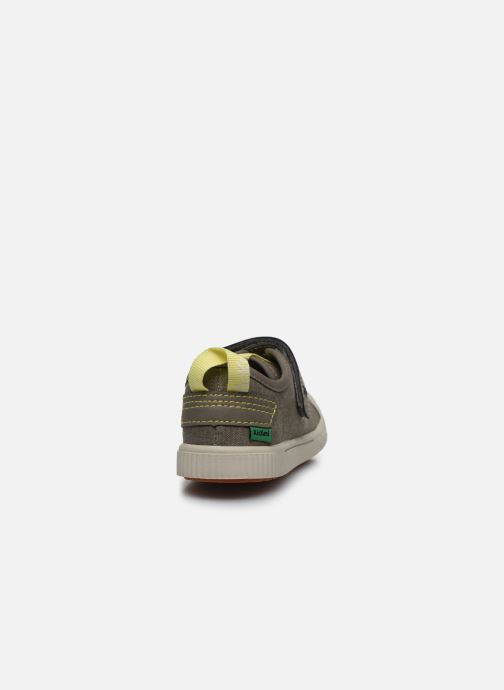 Sneakers Kickers Zhou Verde immagine destra