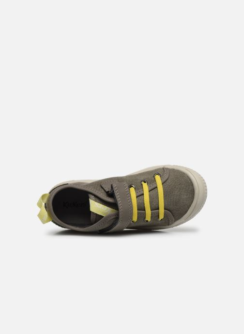 Sneakers Kickers Zhou Verde immagine sinistra