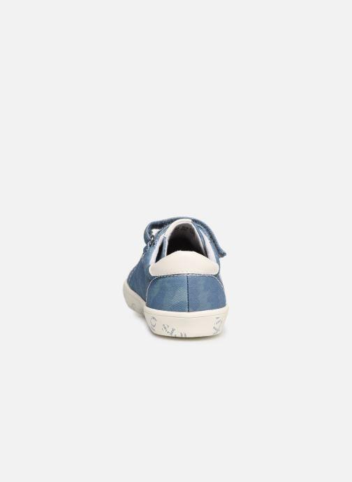 Sneakers Kickers Gody Blauw rechts