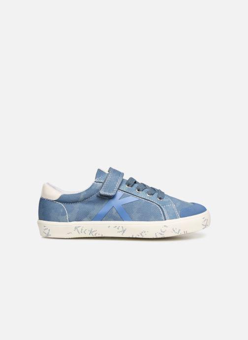 Sneakers Kickers Gody Blauw achterkant