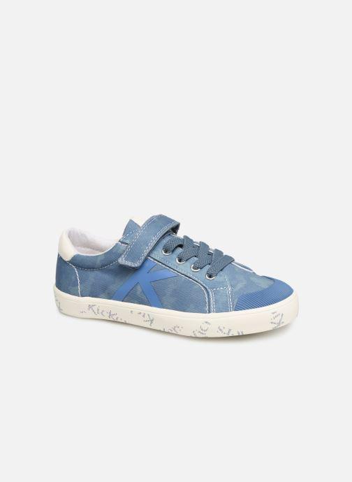 Sneakers Kickers Gody Blauw detail