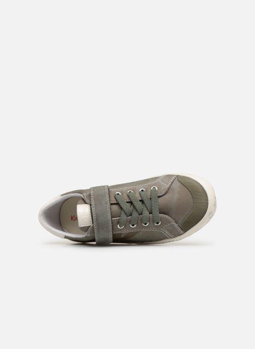 Sneakers Kickers Gody Verde immagine sinistra