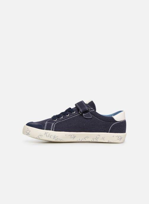 Sneakers Kickers Gody Azzurro immagine frontale