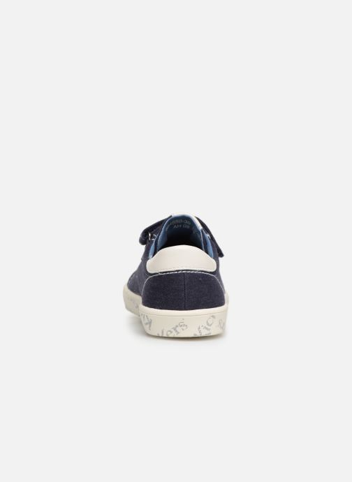 Sneaker Kickers Gody blau ansicht von rechts