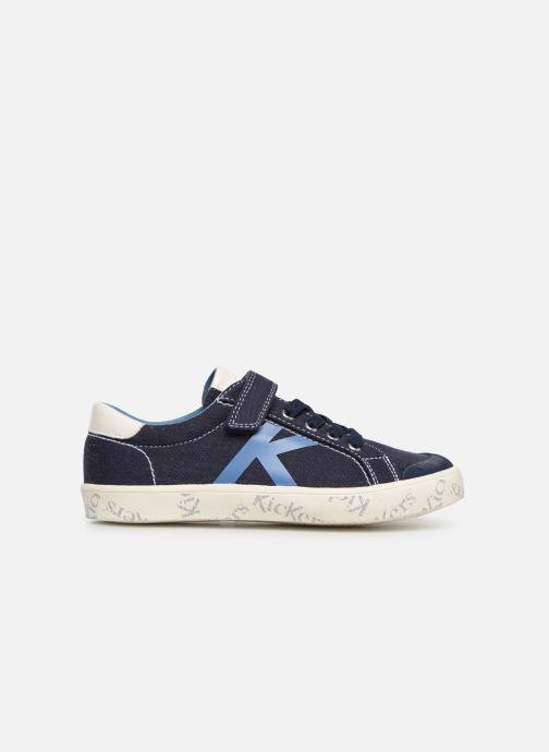Sneaker Kickers Gody blau ansicht von hinten