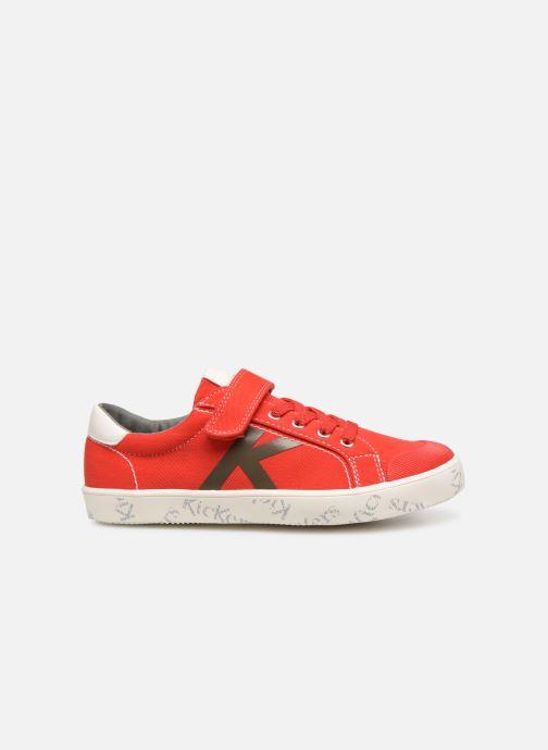 Sneakers Kickers Gody Rood achterkant