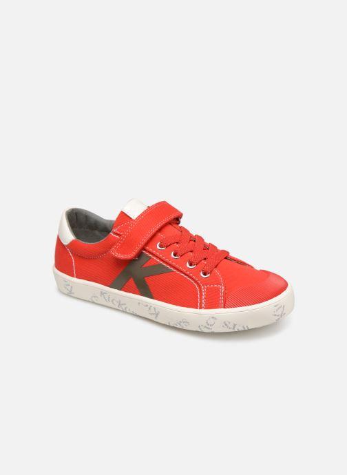 Sneakers Kickers Gody Rood detail