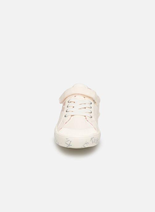 Baskets Kickers Gody Blanc vue portées chaussures